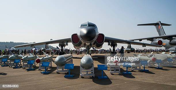 hina's H6K by People's Liberation Army Air Force of China on display at the China International Aviation Aerospace Exhibition at China International...