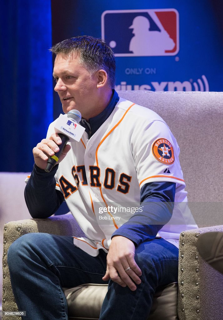 A.J. Hinch attends SiriusXM Town Hall With Houston Astros World Series Manager A.J. Hinch on January 13, 2018 in Houston, Texas.