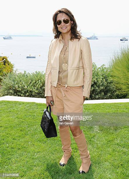 Hind El Achchabi attends the Sea Shepherd lunch sponsored by producers Mohammed Al Turki and Hamza Talhouni honoring Michelle Rodriguez and Paul...