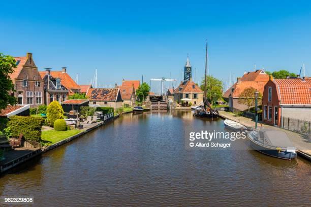 hindeloopen friesland netherlands - friesland noord holland stockfoto's en -beelden