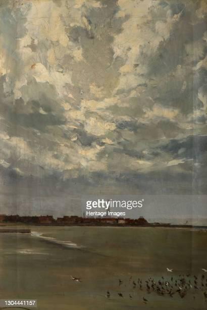 Hindelopen, Holland, 1875. Artist Alexander Friedrich Werner.