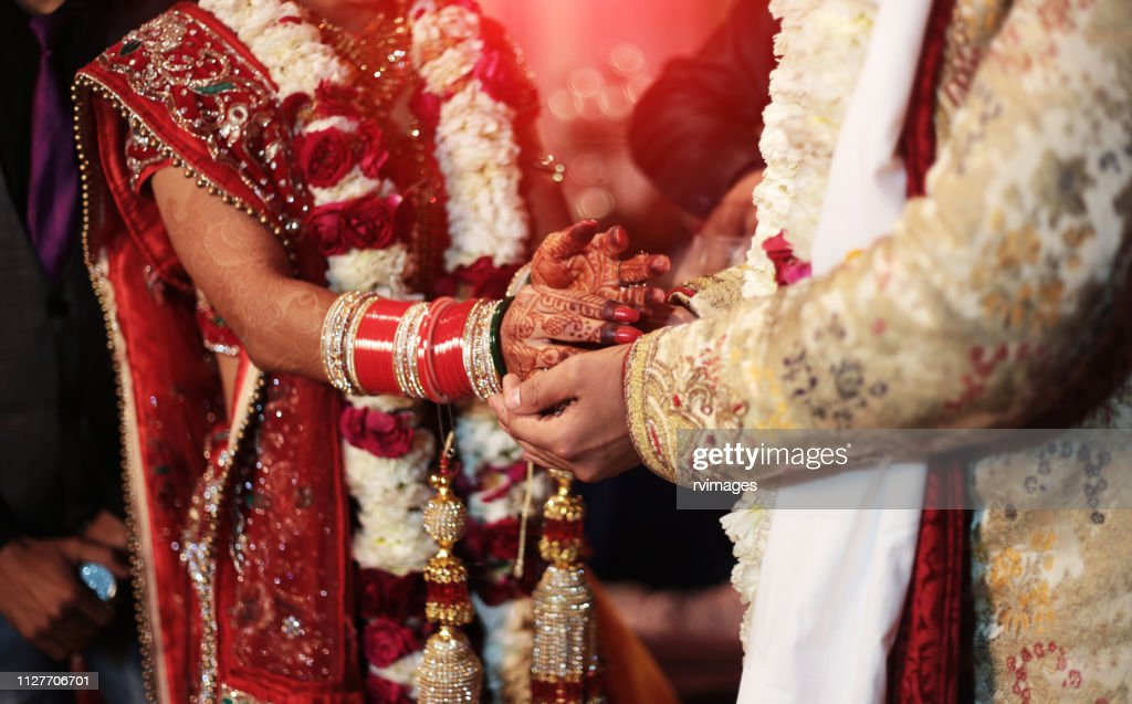 Hindi wedding ceremony : Stock Photo