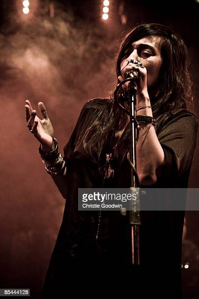 Hindi Zahra performs at ICA on March 12 2009 in London
