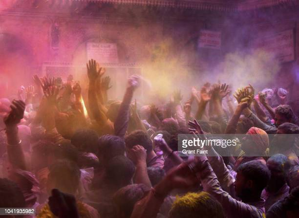 Hindu color festival called Holi.