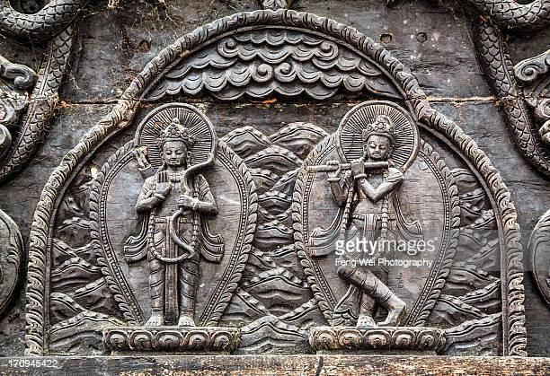 Hindu Deities, Bindhya Basini Temple, Pokhara