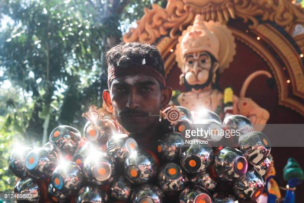 hindu devotee pierced his body during the Thaipusam Celebration in penang on January 31 2018 The word Thaipusam is a combination of the name of the...