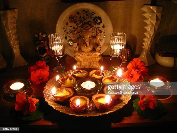 hindu festival of diwali - diwali stock photos and pictures