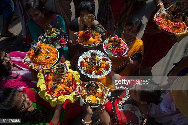 Hindu festive 'Gopal Puja' held in Old DhakaBangladesh on February 27 2015'Gopal' is the childhood name of hindu Goddess quotkrishnaquot 'Gopal' is...