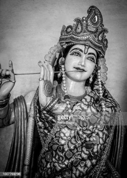 hindu god - krishna - lord krishna stock photos and pictures