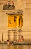 traditional hindu indian men sadhu holy