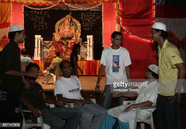 Hindu Muslim Unity Religion National Integration Swapnil Savardekar a Hindu Standing in centre fasts every Ramadan for his Muslim friend who passed...