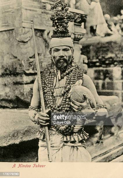Hindu priest Madras India Photograph from early 20th century