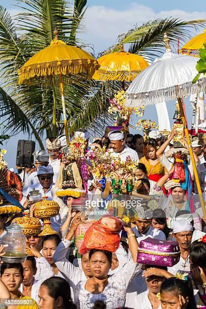 Hindu procession in Bali