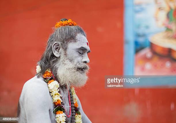 Hindu sadhu in Varanasi, India