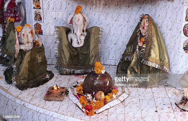 Hindu shrine detail