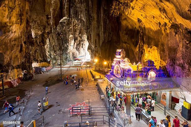 Hindu Shrine Inside Batu Caves, Kuala Lumpur, Malaysia