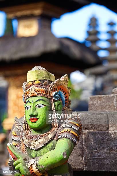 Hindu stone temple idol, Kintamani, Bali
