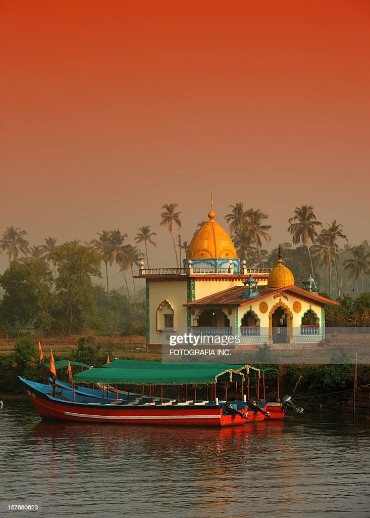 Hindu Temple in Goa : Stock Photo