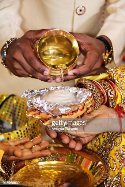 hindu wedding - guyana stock pictures, royalty-free photos & images