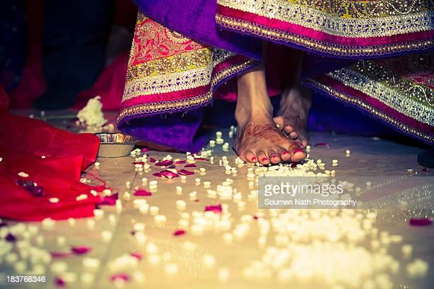 Hindu Wedding Rituals : Saptapadi