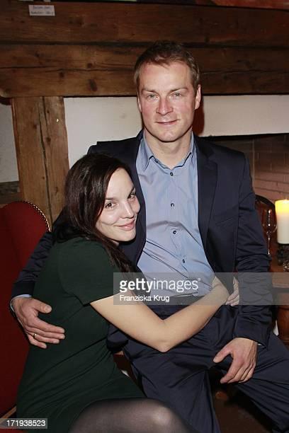 Hinnerk Schönemann Und Ehefrau Anne Sarah Hartung Beim Galadinner Auf Dem Jagdschloss Anlässlich Des Tirol Cross Mountain 2011 In Kühtai