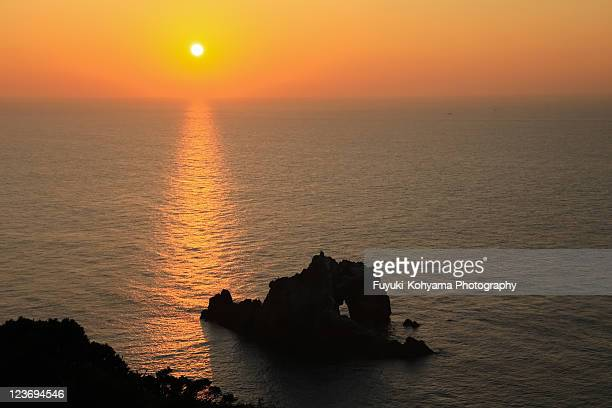 hino demon , pacific sunrise - aichi prefecture stock pictures, royalty-free photos & images