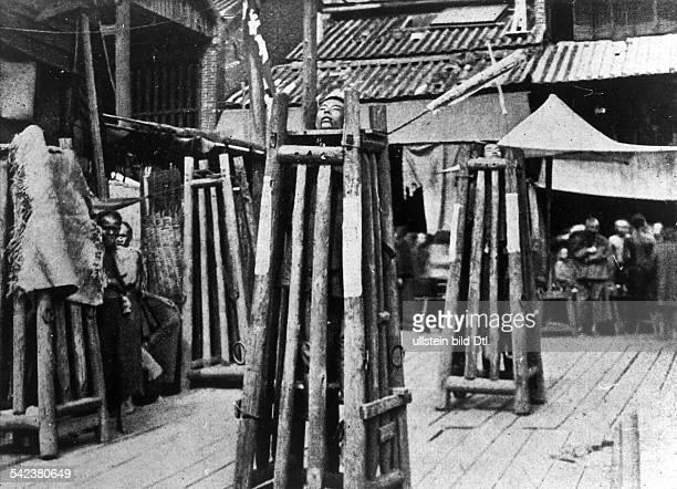 Hinrichtung in Chinaum 1900