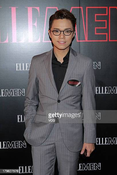 Hins Cheung attends the Elle Men fashion event on September 5 2013 in Hong Kong China