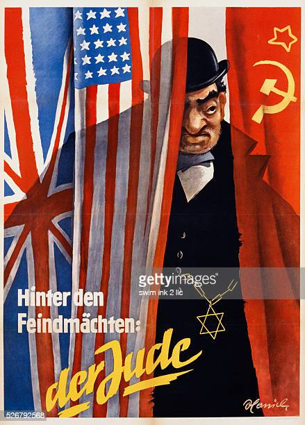 Hinter den Feindmachten, der Jude Poster by Hamil