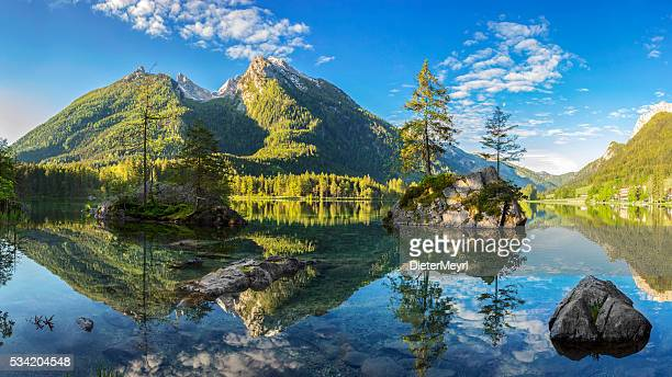 Hintersee - Bavarian lake in Berchtesgaden National Park