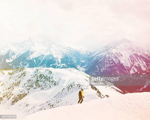 Hintertux skier