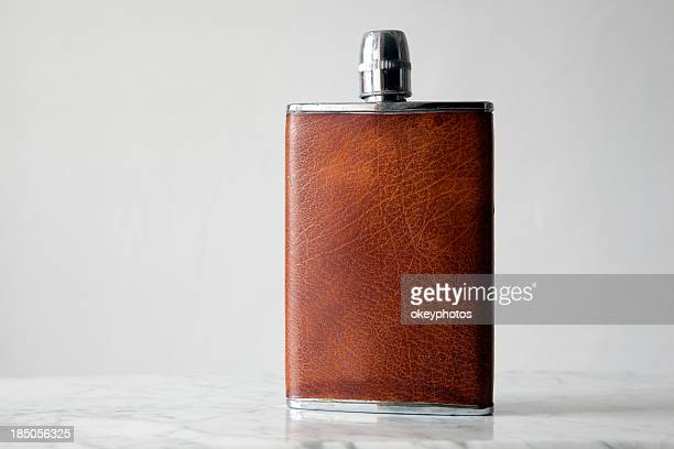 hip flask - flask stock pictures, royalty-free photos & images