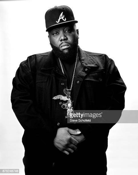 Hip hop act Run the Jewels aka Killer Mike is photographed for the Guardian on December 5 2016 in Los Angeles California