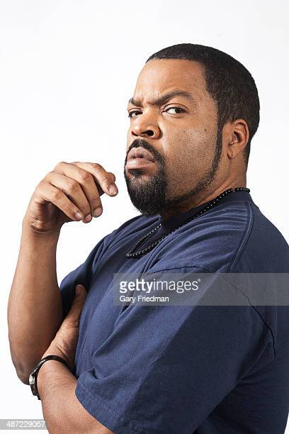 Hip hop artist and actor Ice Cube is photographed for Los Angeles Times on April 11, 2014 in Sun Valley, California. PUBLISHED IMAGE. CREDIT MUST...