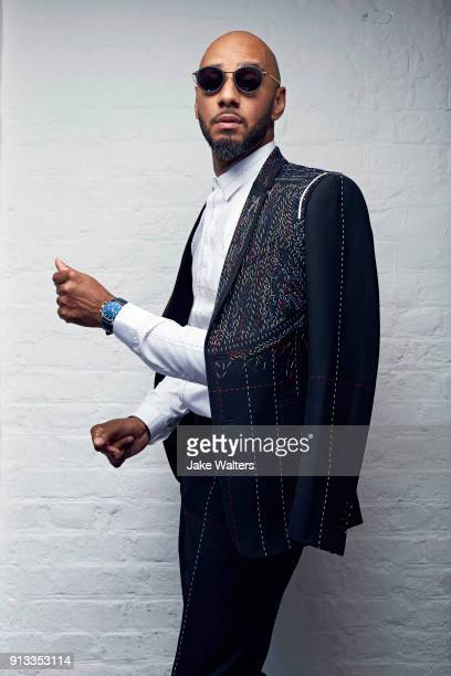Hip hop artist and record producer Swizz Beatz aka Kasseem Dean is photographed for Revolution magazine on July 25 2017 in London England