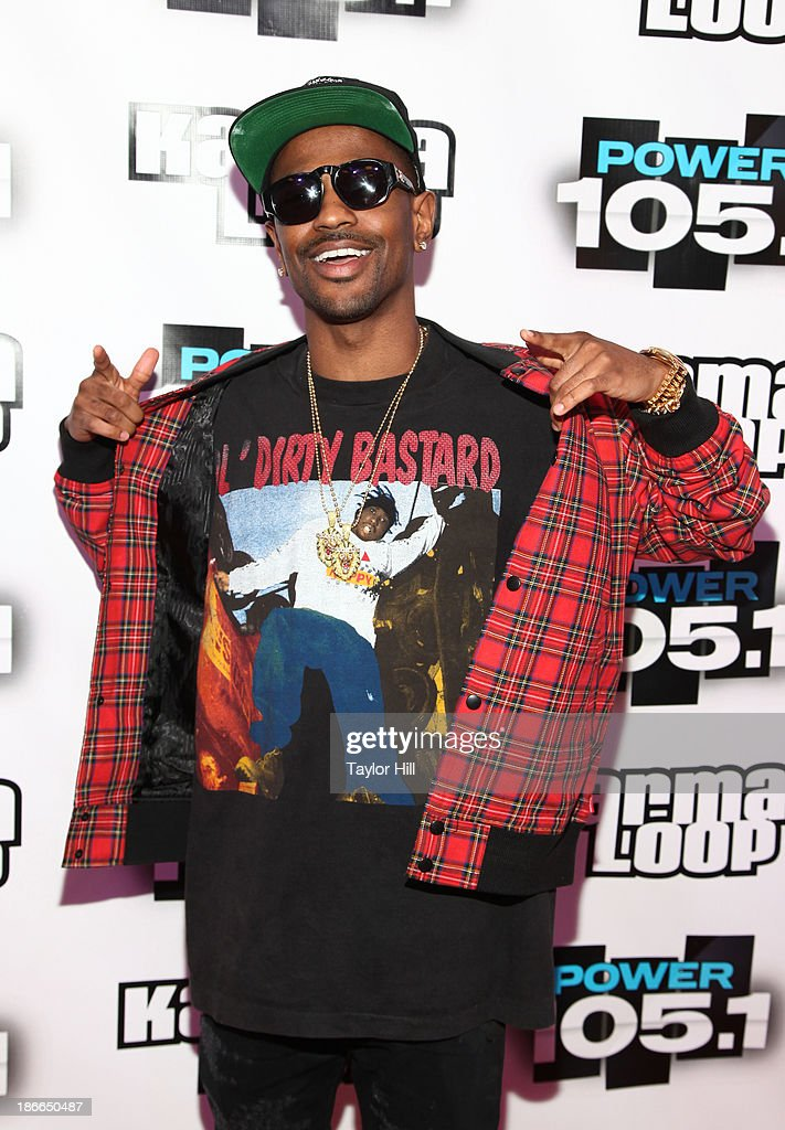 Hip hop artist Big Sean attends Power 105.1's Powerhouse 2013, presented by Play GIG-IT, at Barclays Center on November 2, 2013 in New York City.