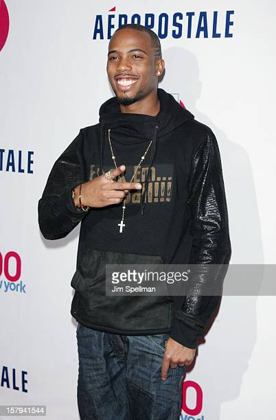 Hip Hop artist BOB attends backstage at Z100's Jingle Ball 2012 presented by Aeropostale at Madison Square Garden on December 7 2012 in New York City