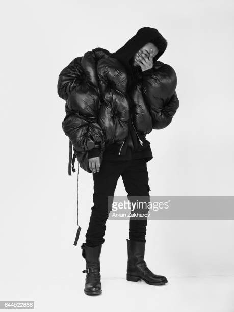 Hip hop artist Chaz French is photographed for Interview Magazine on March 24, 2016 in New York City.