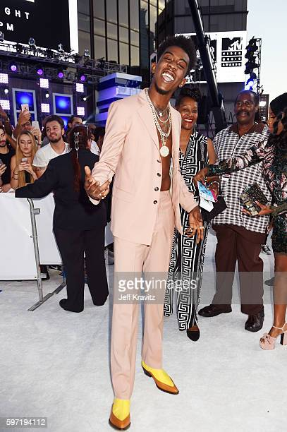 Hip hop artist Desiigner attends the 2016 MTV Video Music Awards at Madison Square Garden on August 28 2016 in New York City