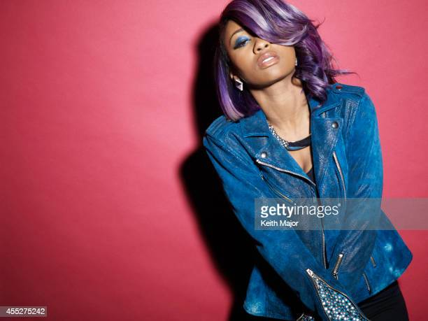 Hip hop artist Diamond is photographed for on April 17 2014 in New York City