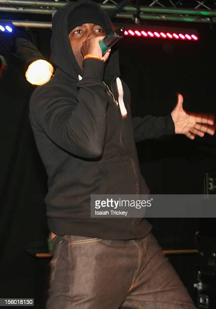 Hip Hop Artist Jon Connor opens for Xzibit In Concert In Toronto at The Rockpile on November 10 2012 in Toronto Canada