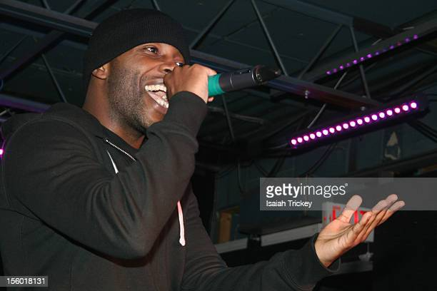 Hip Hop Artist Jon Connor opens for Xzibit In Concert In Toronto at The Rockpile on November 10, 2012 in Toronto, Canada.