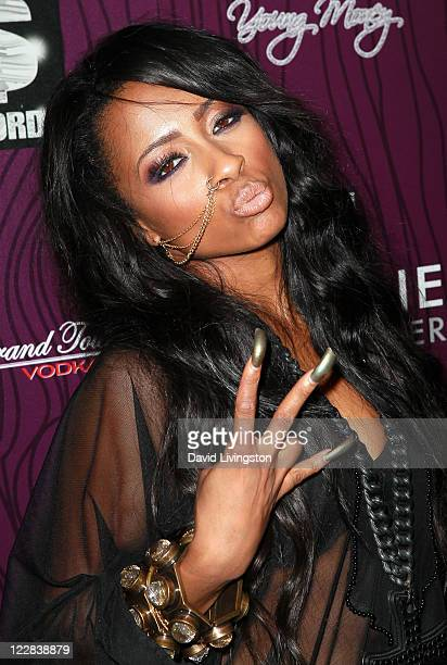Hip hop artist Shanell attends Cash Money Records' Lil Wayne album release party for 'Tha Carter IV' at Boulevard3 on August 28 2011 in Los Angeles...