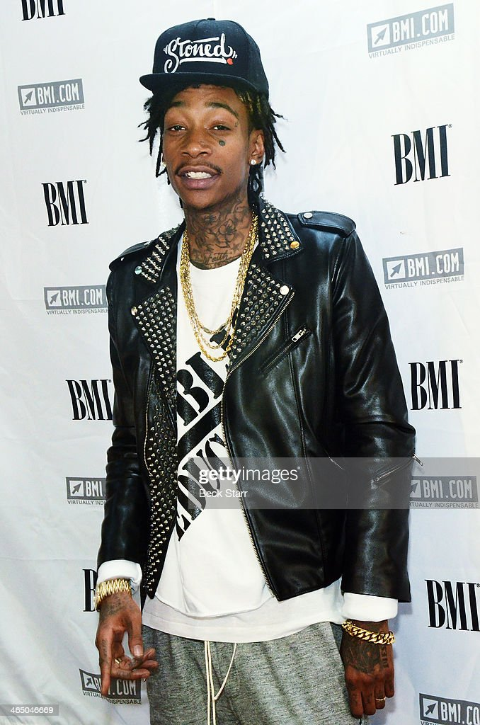 Hip hop artist Wiz Khalifa attends BMI Presents Annual 'How I Wrote That Song' Pre-Grammy Event at House of Blues Sunset Strip on January 25, 2014 in West Hollywood, California.