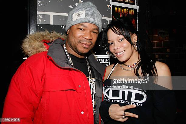 Hip Hop artist Xzibit and Model Mystique Lee attend Xzibit Performs In Concert In Toronto at The Rockpile on November 10 2012 in Toronto Canada