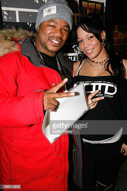 Hip Hop artist Xzibit and Model Mystique Lee attend Xzibit Performs In Concert In Toronto at The Rockpile on November 10, 2012 in Toronto, Canada.