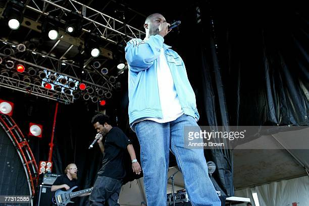 Hip hop artists GZA and the Fyre perform on with October 12 2007 in Atlanta Georgia