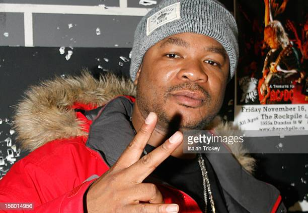 Hip Hop artists Xzibit attends his concert at The Rockpile on November 10 2012 in Toronto Canada