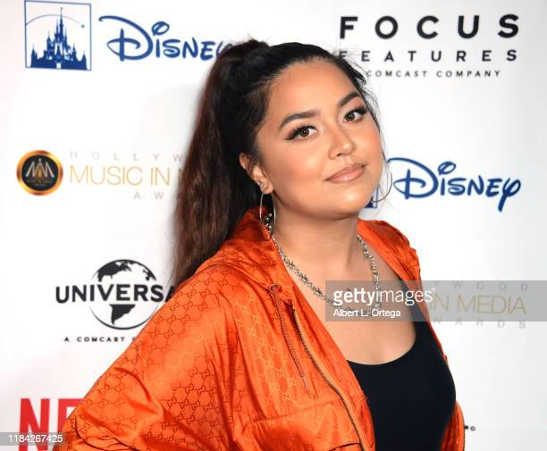 Hip Hop artist/singer Tiana Kocher at the 10th Annual Hollywood Music In Media Awards After Party held at Avalon Hollywood on November 20 2019 in Los...