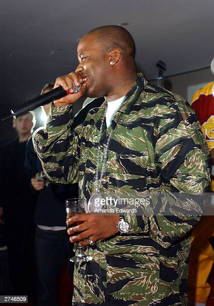 Hip Hop group Outkast perform at the Miss Sixty Energie After Party at Astra West at the Pacific Design Center on November 19 2003 in West Hollywood...